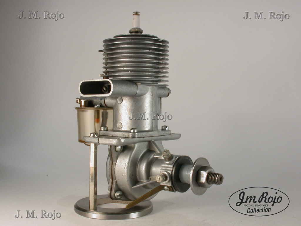 Vintage Model Airplane Engine 45